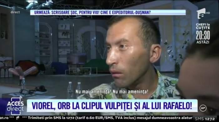 """VIDEO / Reacția lui Viorel, după ce Vulpița și Rafelo au lansat un nou hit! Soțul Veronicăi a izbucnit: """"Nu-mi place nimic"""""""