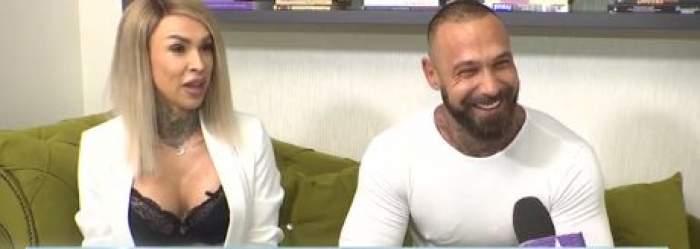 """Mihaela, """"Spintecătoarea de la morgă"""" și soțul, interviu exclusiv. Cuplul a oferit detalii picante despre relația lor destul de tumultoasă: """"I-am scris de vreo 20 de ori"""" / VIDEO"""