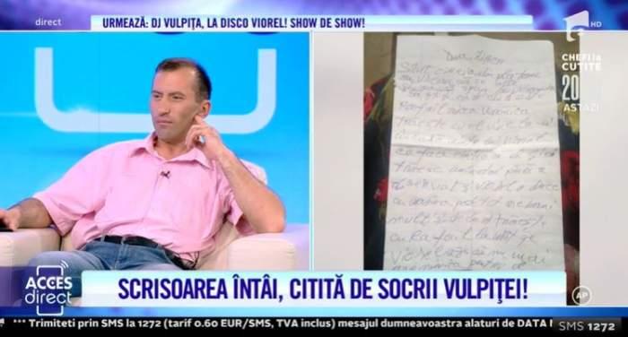 """VIDEO / Vulpița și Rafaelo formează un cuplu?! De la cine a primit Viorel scrisoarea care ar demonstra că Veronica îl.. înșeală: """"Trăiesc amândoi"""""""