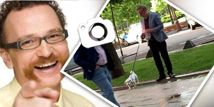 VIDEO PAPARAZZI / Lui Ovidiu Cuncea îi priește viața de preot! Fostul actor este un bun samaritean și nu se ferește să o arate nici când își plimbă câinele. Cum a fost surprins în toiul zilei