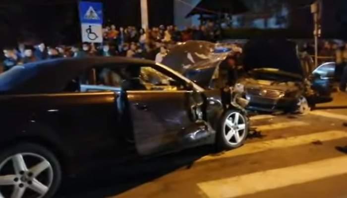 Accident cumplit pe o șosea din Botoșani. Un șofer vitezoman a transmis live, pe Facebook, momentul impactului / VIDEO