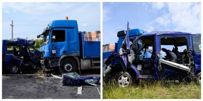 Tragedie în Ungaria! Microbuz plin cu români și unguri, implicat într-un accident. Cinci persoane și-au pierdut viața