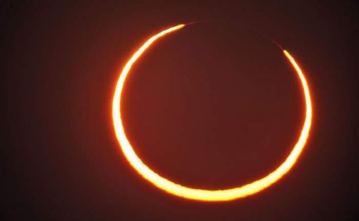 Eclipsă de Soare, în această dimineață! Fenomenul astronomic a putut fi observat și în România