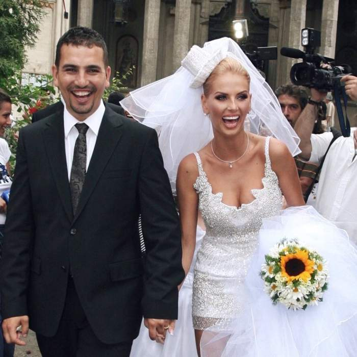 """Andreea Bănică și Lucian Mitrea, cuplul perfect! Cei doi aniversează astăzi 12 ani de la nuntă! Secretul căsniciei de vis: """"Am mers prin viață împreună"""""""