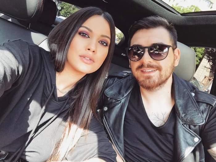 """Betty Salam și Cătălin Vișănescu aniversează doi ani de la nuntă! Ce declarație de dragoste i-a făcut ginerele celebrului manelist soției sale: """"Te iubesc mult"""""""