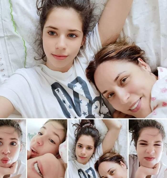 FOTO / Andreea Marin are cu ce se lăuda! Fiica ei a moștenit trăsăturile superbe ale părinților. Cu cine seamănă mai mult?
