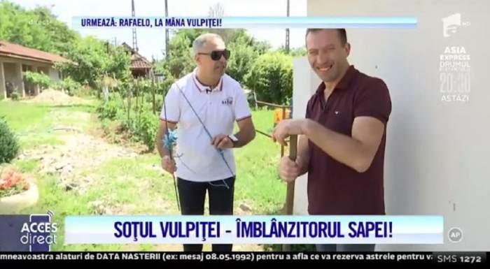 Veronica și Viorel, echipa de șoc! Soții Stegaru au mers la moșia Mariei Ghinea și s-au pus serios pe treabă, sub observația lui Nicolae Datcu! / VIDEO