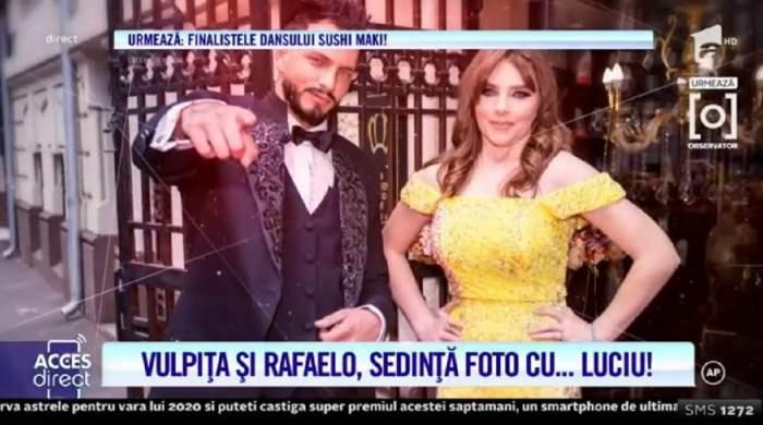Veronica comandă, Rafaelo execută! Artistul s-a lăsat pe mâinile ei pentru o ședință foto de senzație! Soția lui Viorel s-a transformat într-o adevărată prințesă! / VIDEO