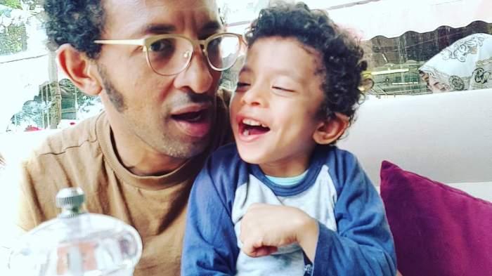 Filmare emoționantă cu fiul bolnav al lui Kamara. Clipul i-a mișcat pe fani până la lacrimi / VIDEO