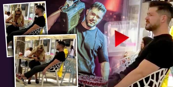 """VIDEO / Victor Slav umblă cu sosia Biancăi Drăgușanu / Cum a fost filmat """"Băiatul de la Meteo""""!"""