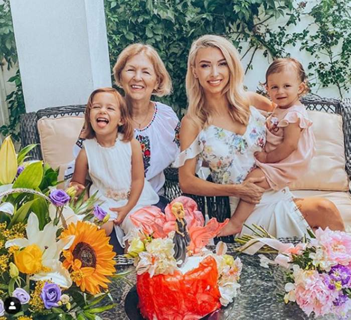 """Un an cât zece! Andreea Bălan a trecut prin cele mai grele momente, însă astăzi zâmbește din nou! Cele două fetițe au surprins-o de ziua sa de naștere. """"De câte ori am luat-o de la capăt"""""""