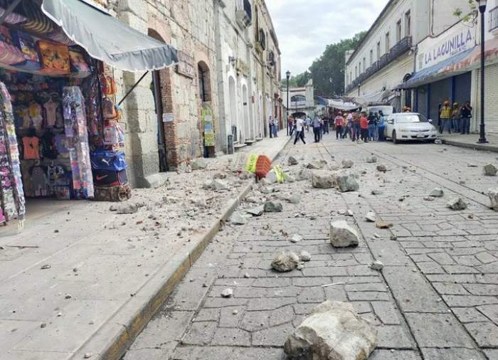 Cutremur devastator în Mexic. Seismul a fost de 7,4 grade pe scara Richter
