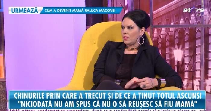 Raluca Macovei, despre chinurile prin care a trecut! Medicii nu i-au dat nicio șansă, dar acum e mămică de gemeni! / VIDEO