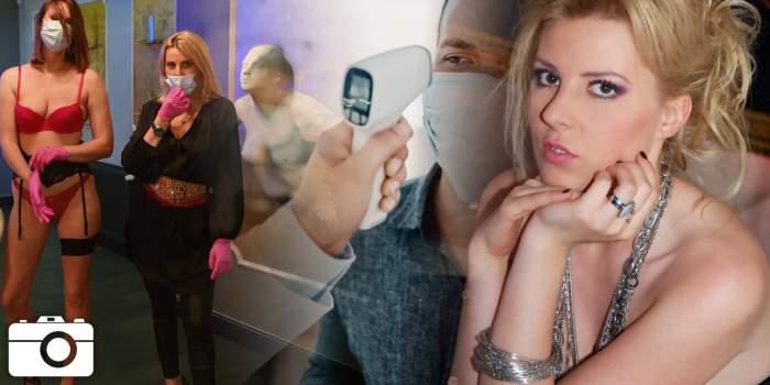 Culmea pandemiei: să îți ia Alina Plugaru temperatura la intrare! Imagini exclusive