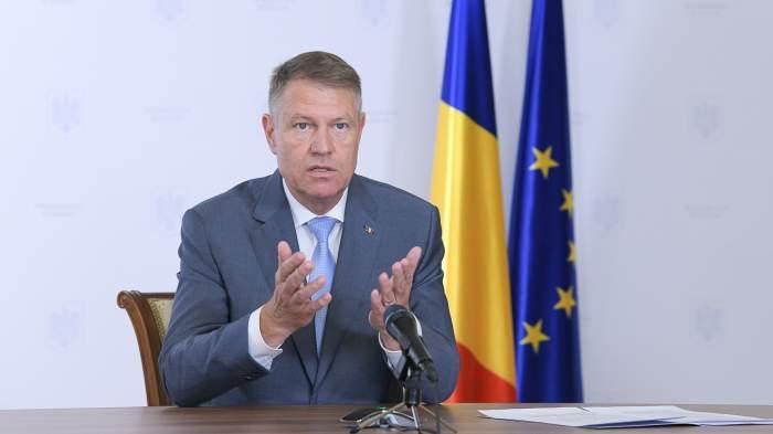 """Reacția lui Klaus Iohannis după inundațiile grave din România: """"Este consecința schimbărilor climatice"""""""