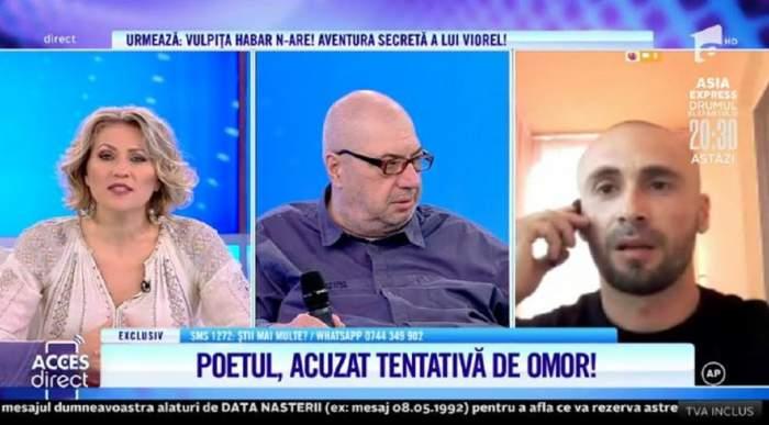Poetul Lilian, bătut măr de trei indivizi? Tot el riscă să ajungă după gratii! / VIDEO