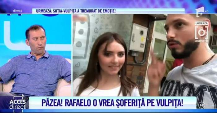 Rafaelo îi cumpără mașină Veronicăi! Vulpița, pregătită să învețe șoferie! / VIDEO