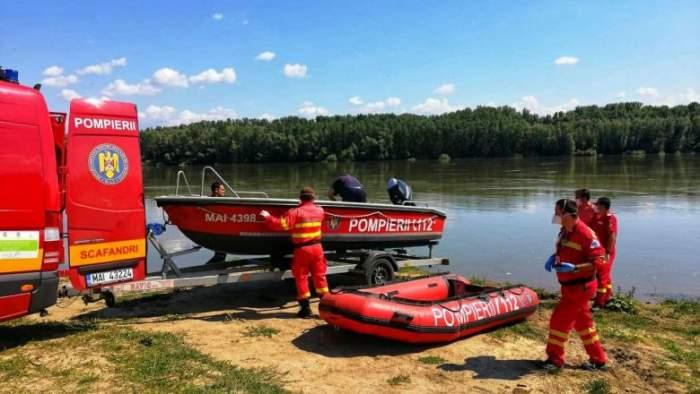 Băiat de 14 ani, găsit mort în apele Dunării! Imagini de la locul tragediei