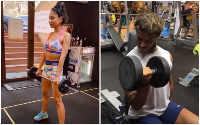 Nasrin și Dima Trofim, direct în sala de sport, după pandemie! Cei doi prezentatori se mențin în formă! / FOTO / VIDEO