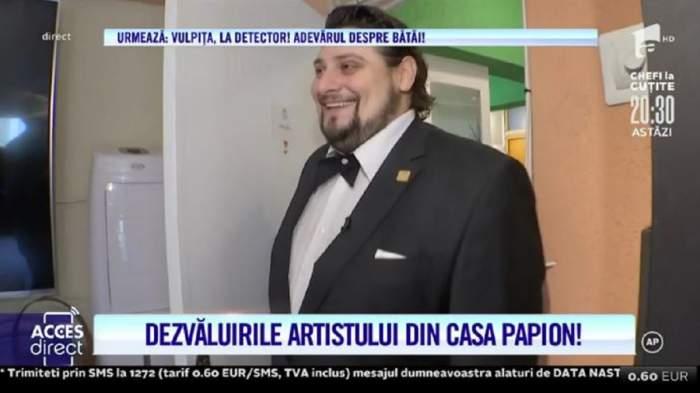 """Cum arată """"casa papion"""" a lui Pavarotti de România! Alin Stoica are și alte pasiuni pe lângă muzică! / VIDEO"""