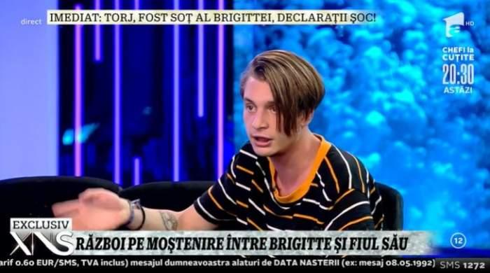 """Brigitte Pastramă și-a dat fiul afară din casă! Robert acuză: """"Cu palme și pumni"""" / VIDEO"""
