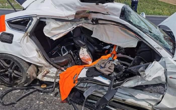 Accident cumplit lângă Slobozia