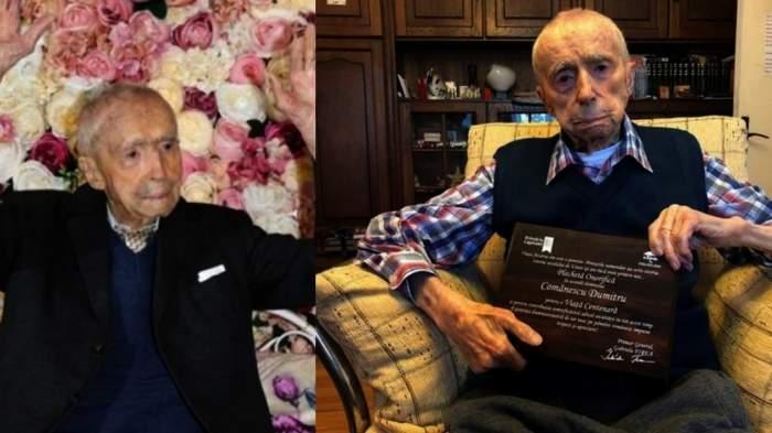 """A murit bucureșteanul care deținea titlul de """"cel mai bătrân bărbat din lume"""""""