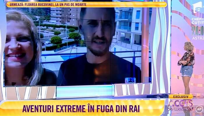 Cristi si Ralu la Acces Direct in transmisiune live