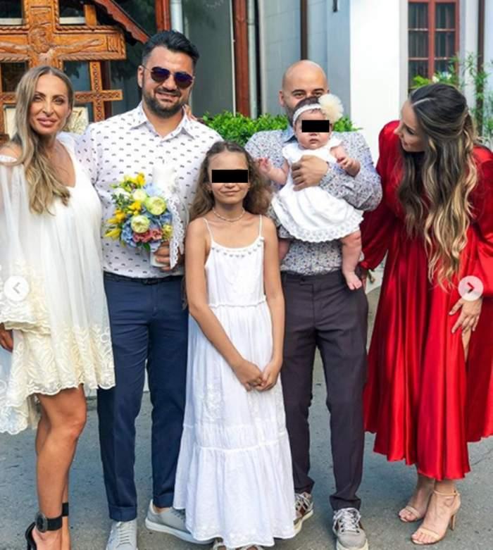 Matteo și iubita lui și-au botezat astăzi fetița! Primele imagini de la eveniment!