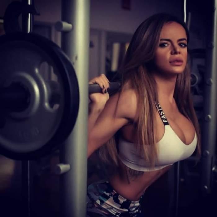 Simona Hapciuc, o mamă singură și o sportivă de nota zece. Bomba sexy a fost părăsită chiar când a aflat ca va avea un copil / FOTO
