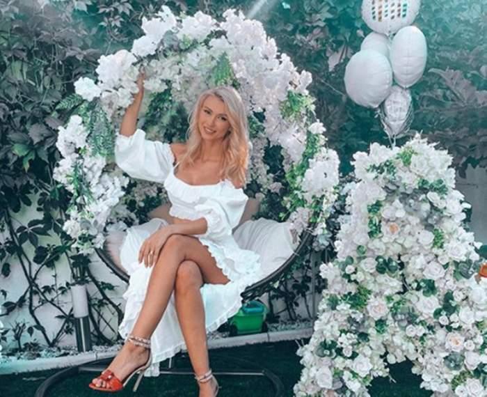 Andreea Bălan, primele imagini de la petrecerea zilei sale de naștere! Cine se află printre invitați!