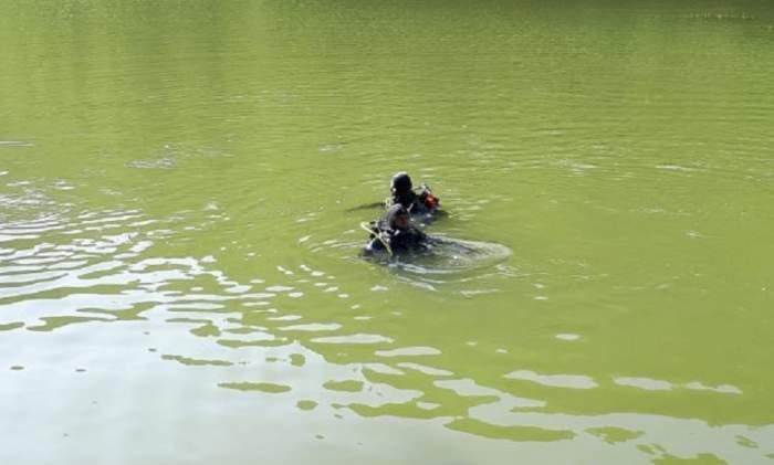 Bătrân înecat într-un lac din Bistrița! Medicii l-au adus la mal în stare de inconștiență