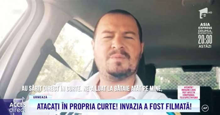 """Bătuți cu bestialitate în propria curte! Principalul suspect, un polițist local: """"Muriți azi!"""" / VIDEO"""