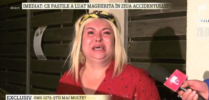 """VIDEO / Viorica de la Clejani a izbucnit. Strigătul de disperare al mamei, după accidentul în care a fost implicată Margherita: """"Am nervi și nu am consumat nimic. Lăsați-mi copiii în pace"""""""