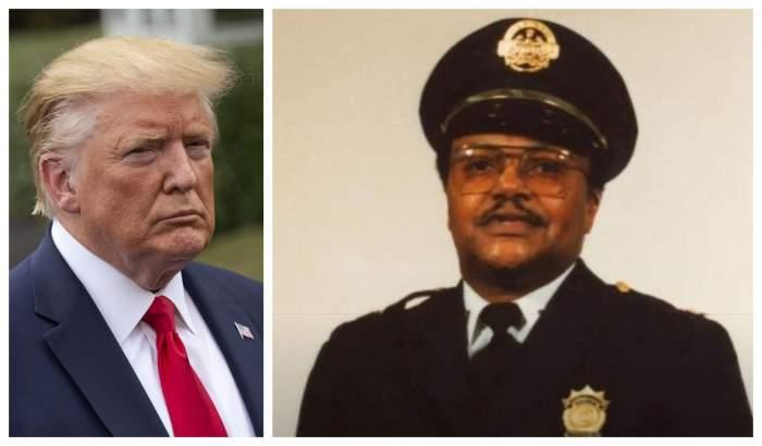 Polițist ucis în timpul protestelor din SUA, când încerca să salveze afacerea unui prieten! Mesajul lui Donald Trump