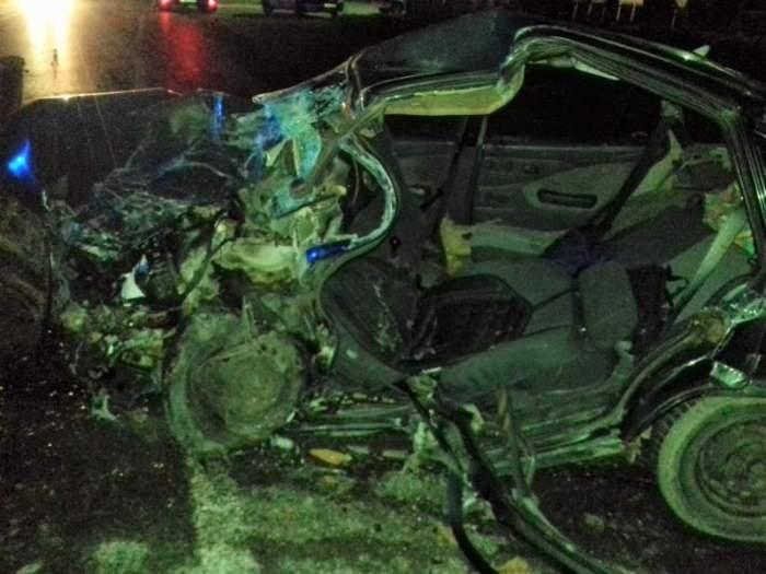 Imagini halucinante de la accidentul din Urziceni soldat cu doi morți / FOTO