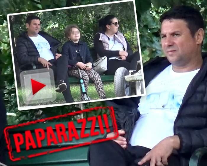 VIDEO PAPARAZZI / Cum își răsfață el fetele, nu o mai face nimeni! Nicu Paleru a lăsat scena pentru o plimbare cu familia. Cum a fost surprins cântărețul