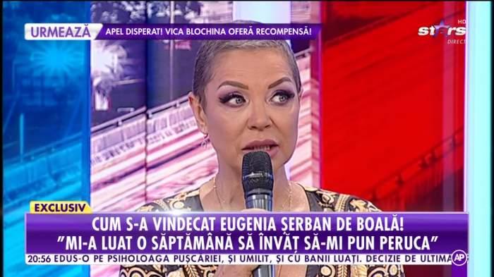 """Majda a izbucnit în lacrimi, în direct, ascultând chinurile Eugeniei Șerban: """"Nu ai cum să nu asociezi cancerul cu moartea"""""""