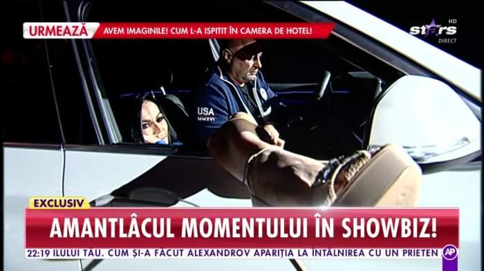 Bianca Pop a venit la emisiune cu bodyguard-ul! Vestea dată în direct, după ce a fost prinsă cu Marian Aliuță