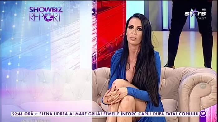"""Bianca Pop, scuze pentru soția lui Aliuță, în direct. Îi cere iertare, dar nu tocmai: """"Eu sunt Bianca, sunt ispită"""""""