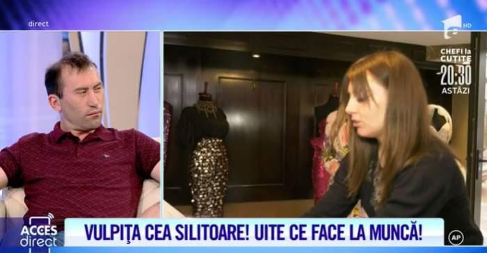 """VIDEO / Vulpița îi dă clasă lui Viorel! Cum s-a descurcat tânăra din Blăgești la locul de muncă. Veronica, o adevărată creatoare de.. rochii de mireasă: """"Sunt încrezătoare"""""""