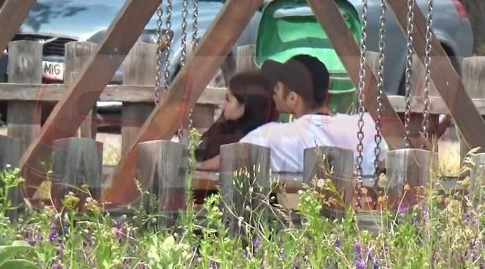 VIDEO PAPARAZZI / Gigi Becali, mâinile la ochi! Imagini în premieră cu fiica cea mică a milionarului și.. noul ei iubit! În ce ipostază incendiarăau fost surprinși cei doi porumbei
