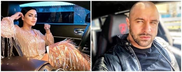 Legătura neștiută din Alex Bodi și Carmen de la Sălciua! Cum a fost filmată cântăreața în mașina de lux a afaceristului. Nu îi va pica deloc bine Biancăi Drăgușanu