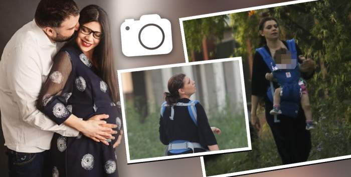 VIDEO PAPARAZZI / Primele imagini cu Laura Andreșan și copilul! Cum arată vedeta la un an după ce a născut?