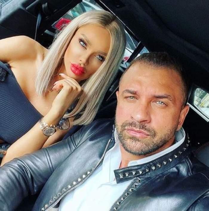 """Bianca Drăgușanu, cadou spectaculos de la Alex Bodi, în direct! """"Mai avem două luni până facem 2 ani"""""""
