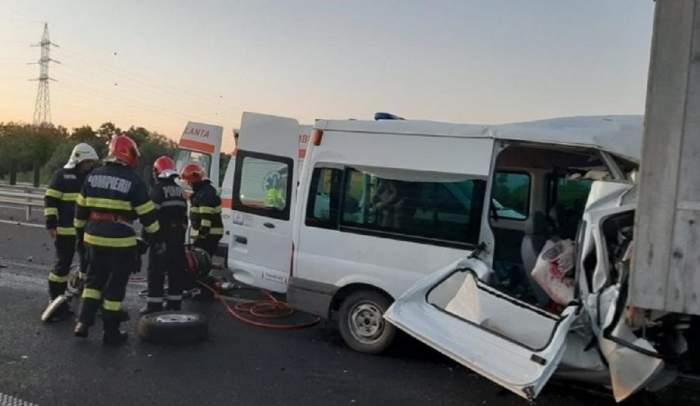 Accident cumplit în Hunedoara