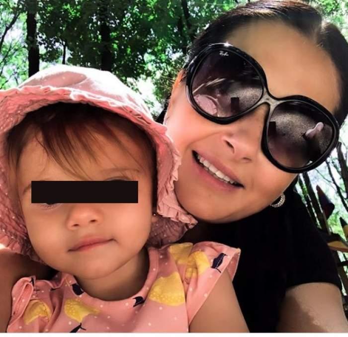"""Gabriela Cristea, fotografie emoționantă alături de fiica sa. """"Totul e mai ușor cu tine"""""""