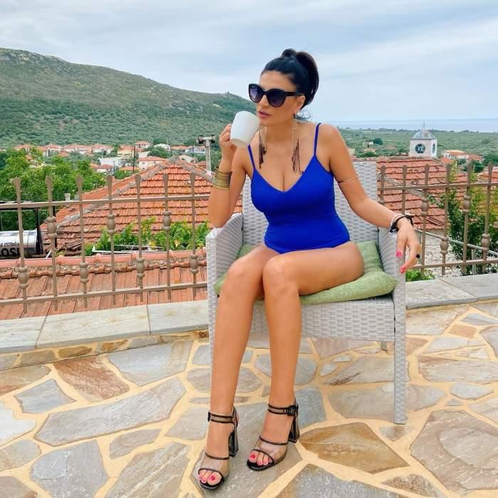 Ioana Ginghină, topless la plajă. Actrița le-a arătat tuturor ce doar iubitul poate vedea / FOTO