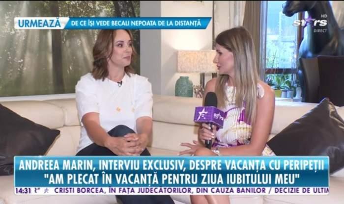 """EXCLUSIV! Andreea Marin, primele dezvăluiri din vacanța de vis, alături de iubit """"Am stat o săptămână și n-am mai fi plecat""""/VIDEO"""