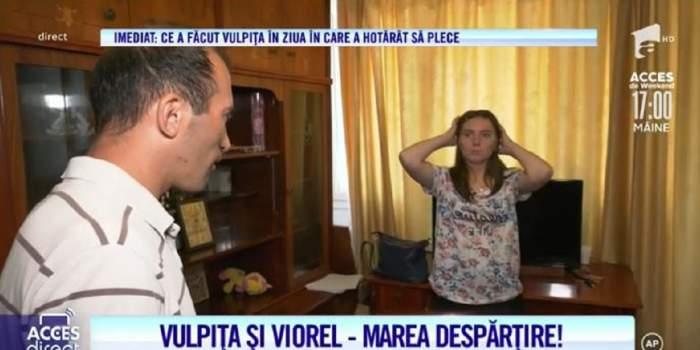 Veronica și Viorel, marea despărțire! Ce și-au spus pentru ultima dată soții Stegaru! S-au îmbrățișat de adio! / VIDEO